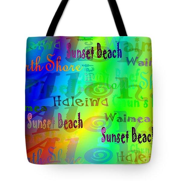 North Shore Beaches Tote Bag