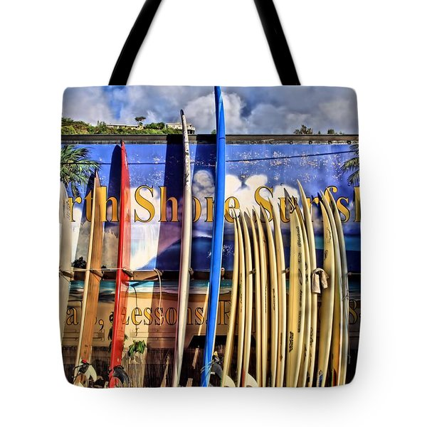 North Shore Surf Shop Tote Bag