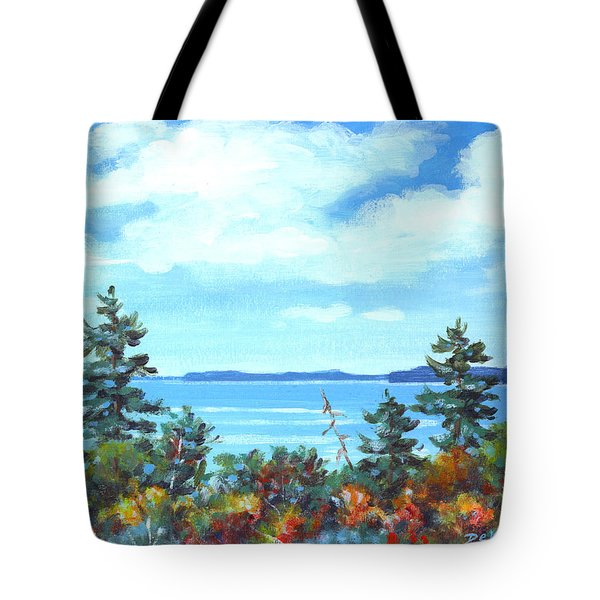North Sky Sketch Tote Bag