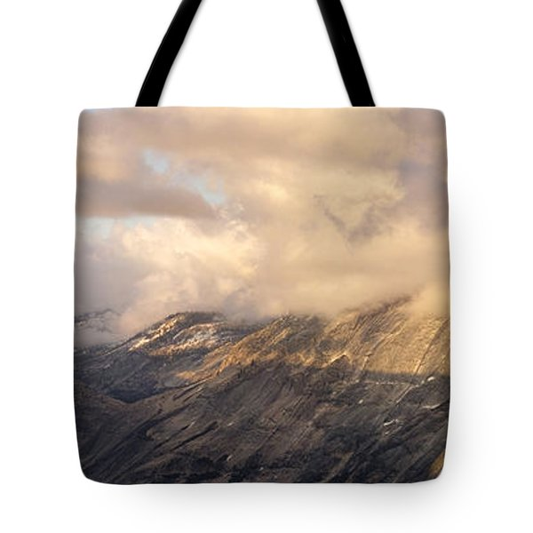 North Valley Panoramic Tote Bag by Bill Gallagher
