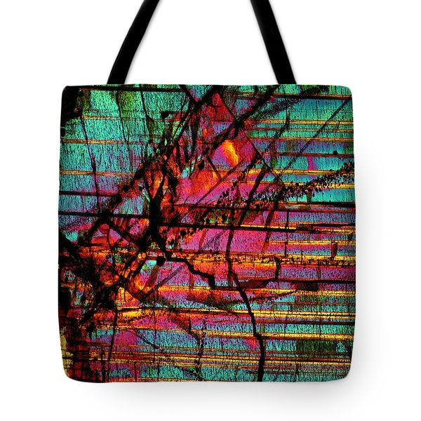 The Divide Tote Bag
