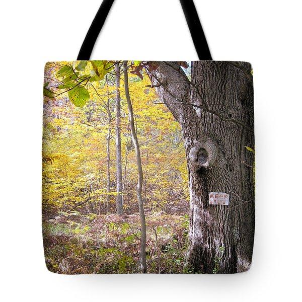 North Woods Guardian Tote Bag by Mary Lee Dereske