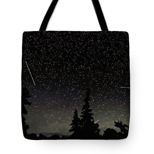 North Woods Tote Bag by Steve Harrington