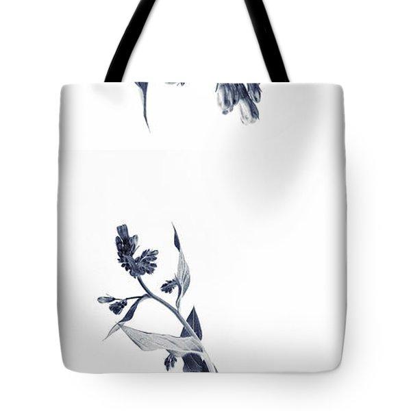 Northern Bluebells Tote Bag by Priska Wettstein