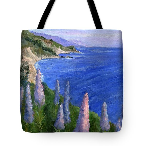 Northern California Cliffs Tote Bag