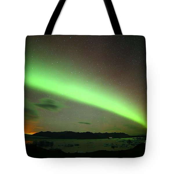 Northern Lights 2 Tote Bag