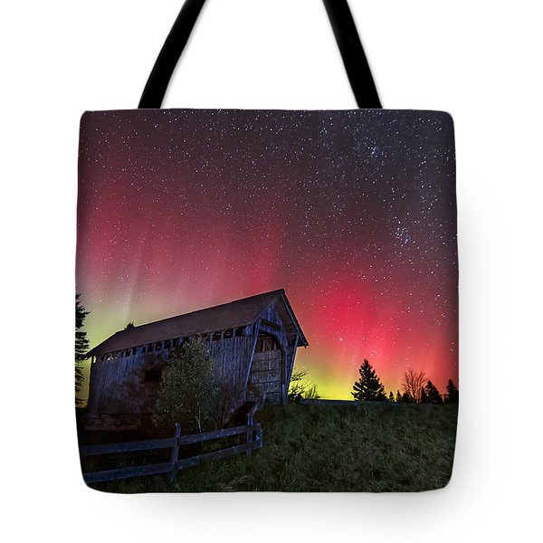 Northern Lights - Painted Sky Tote Bag