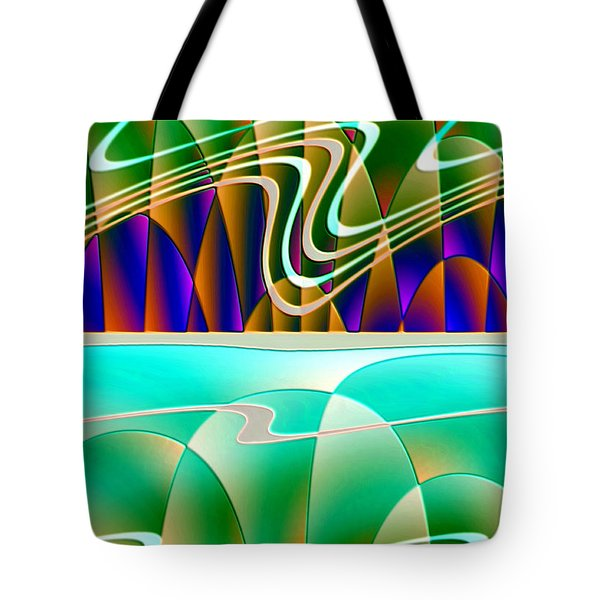 Northern Lights Tote Bag by Raul Ugarte