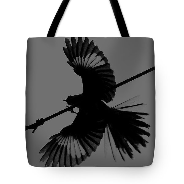Tote Bag featuring the photograph Northern Mockingbird by Leticia Latocki