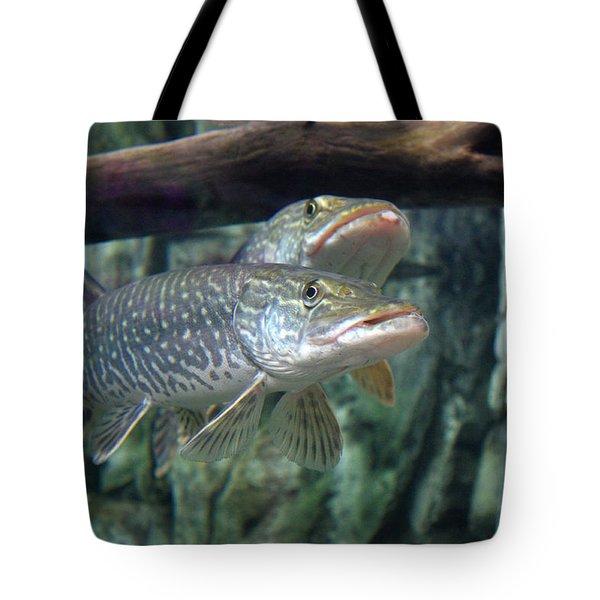 Northern Pike Tote Bag