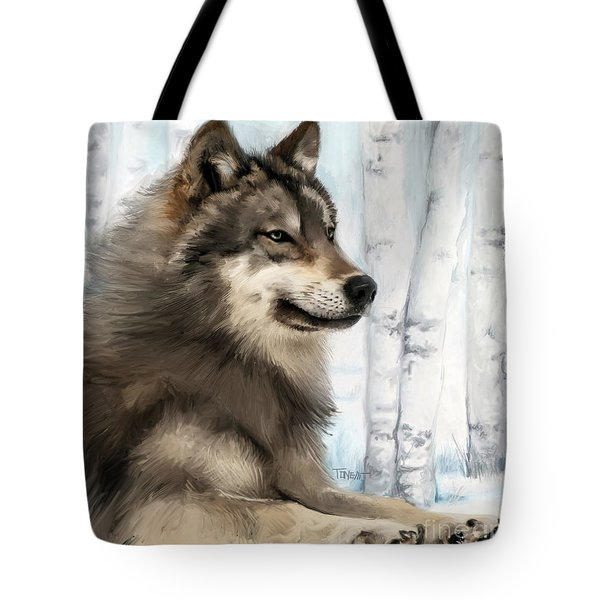 Northern Rocky Wolf... Tote Bag