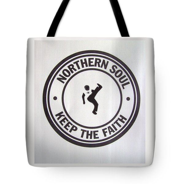 Northern Soul Dancer Tote Bag