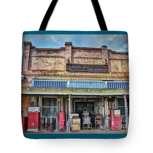 Northington Land And Cattle Tote Bag by Savannah Gibbs