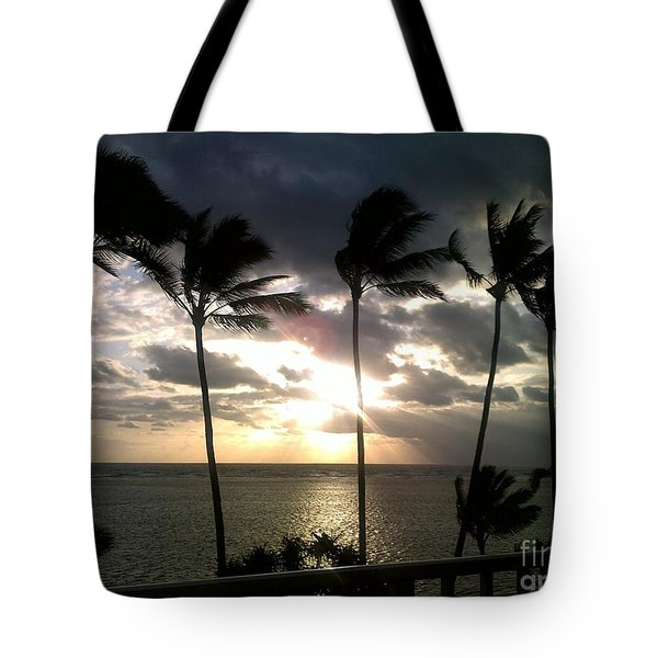 Northshore Sunrise Tote Bag