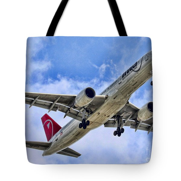 Northwest Coming In By Diana Sainz Tote Bag