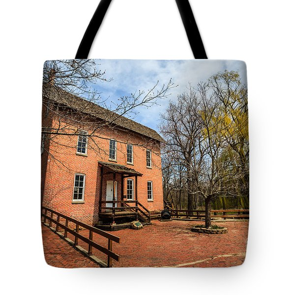 Northwest Indiana Grist Mill Tote Bag by Paul Velgos