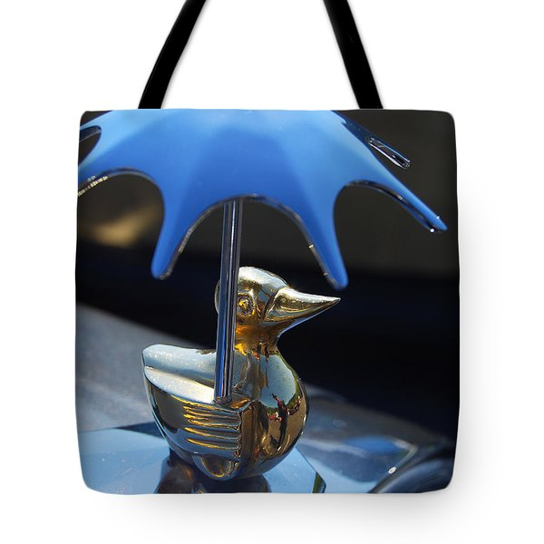 Northwest Roadster Hood Ornament Tote Bag by Jani Freimann