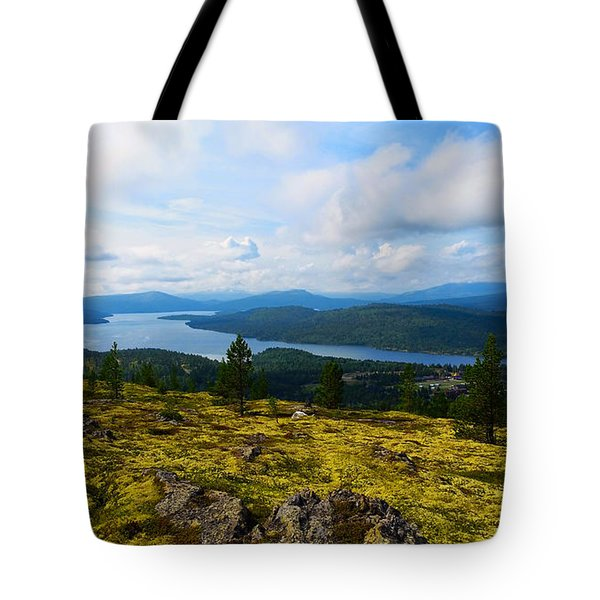 Norwegian Landscape 3 Tote Bag