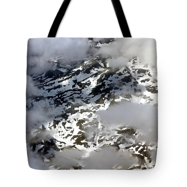 Norwegian Mountains From On High Tote Bag