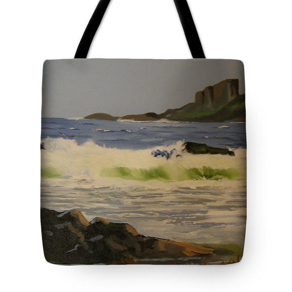 Norwick Beach Shetland Isles Tote Bag