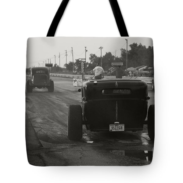 Nostalgia Drags Tote Bag by Dennis Hedberg