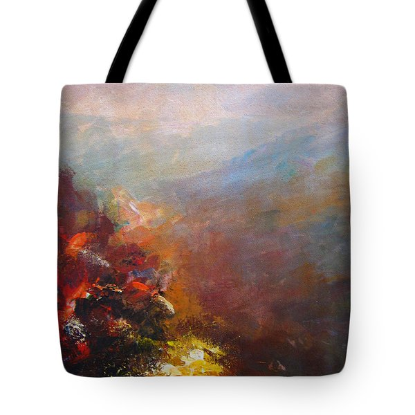 Nostalgic Autumn Tote Bag