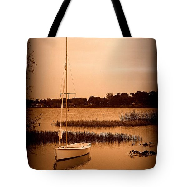 Tote Bag featuring the photograph Nostalgic Summer by Laurie Perry
