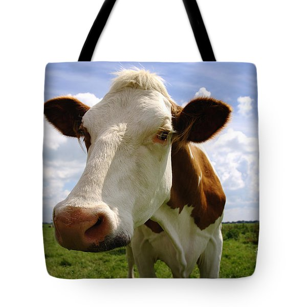 Nosy Cow Tote Bag