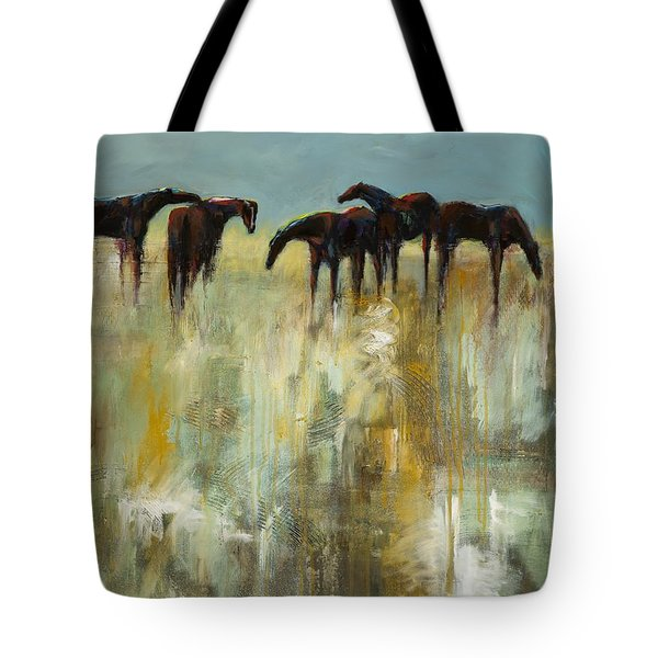 Not A Cloud In The Sky Tote Bag by Frances Marino
