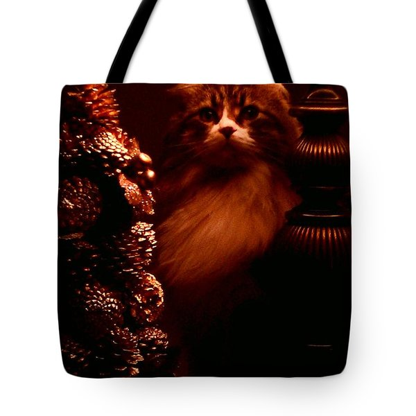 Not A Creature Was Stirring... Tote Bag