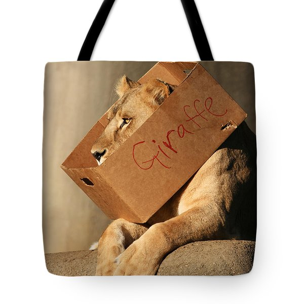 Not A Giraffe Tote Bag