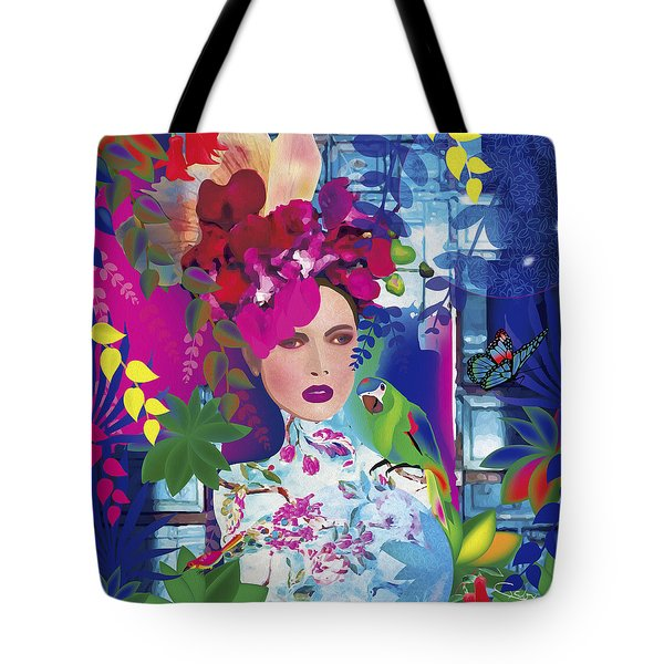 Not Always So Blue - Limited Edition 2 Of 20 Tote Bag by Gabriela Delgado
