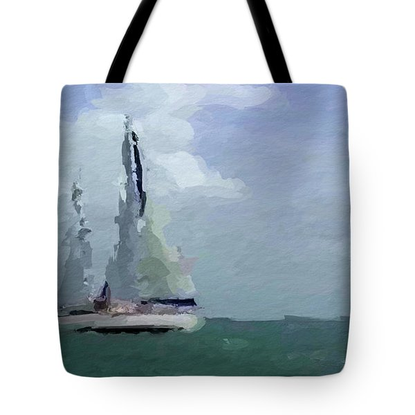 Not Far From Paradise Tote Bag by Anthony Fishburne