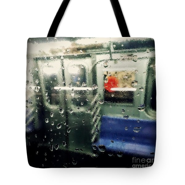 Not In Service Tote Bag by James Aiken