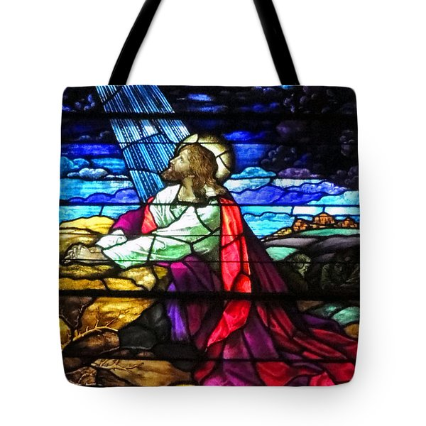 Not My Will....  Tote Bag