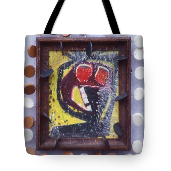 Not Night - Framed Tote Bag by Nancy Mauerman