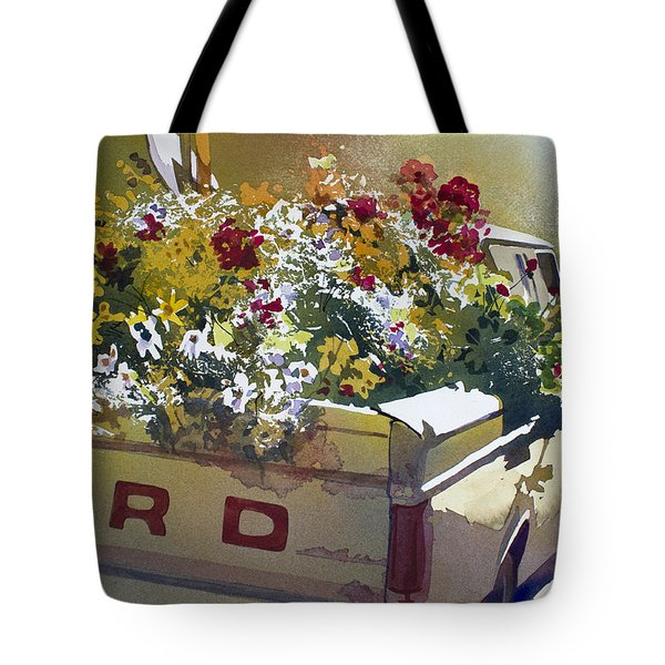 Not Ready To Go Tote Bag by Kris Parins