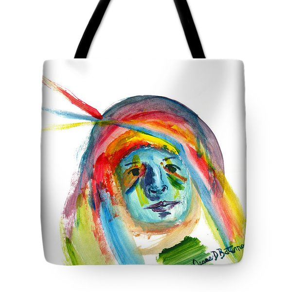 Not Saying A Word Tote Bag