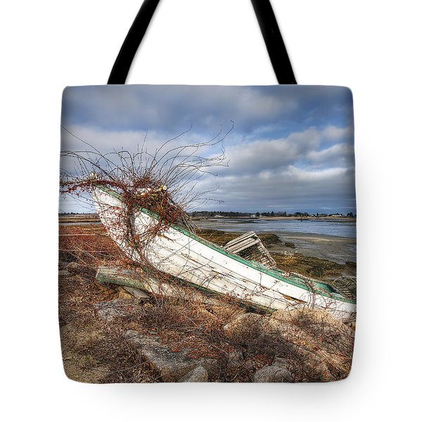 Not Seaworthy Tote Bag by Eric Gendron