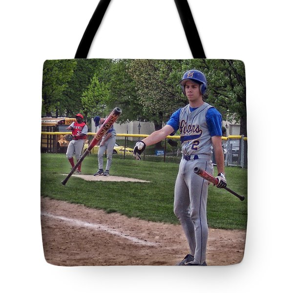 Not This Bat Tote Bag by Thomas Woolworth