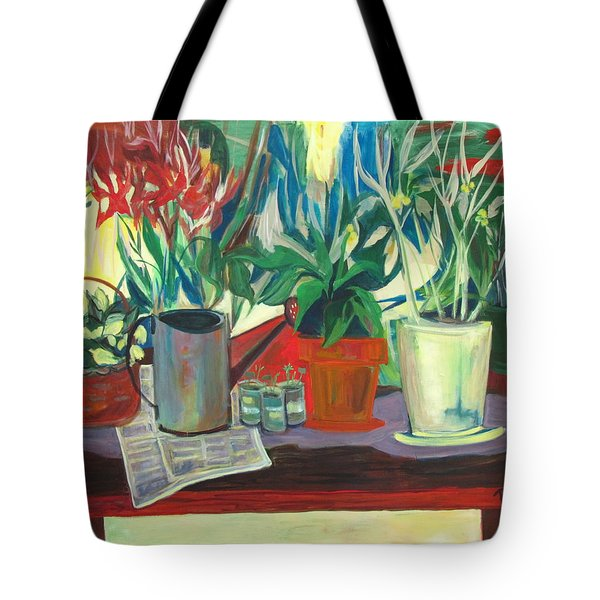 Not Your Grandpa's Potting Stand Tote Bag