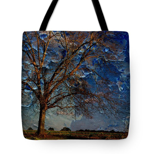 Nothing But Blue Skies Tote Bag by Jan Amiss Photography