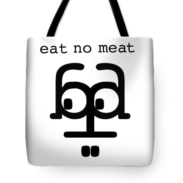Nothing With A Face Tote Bag
