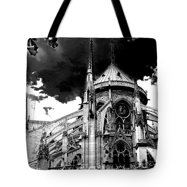 Notre Dam Revealed By Denise Dube Tote Bag