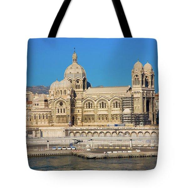 Notre Dame De La Garde, Marseille Tote Bag
