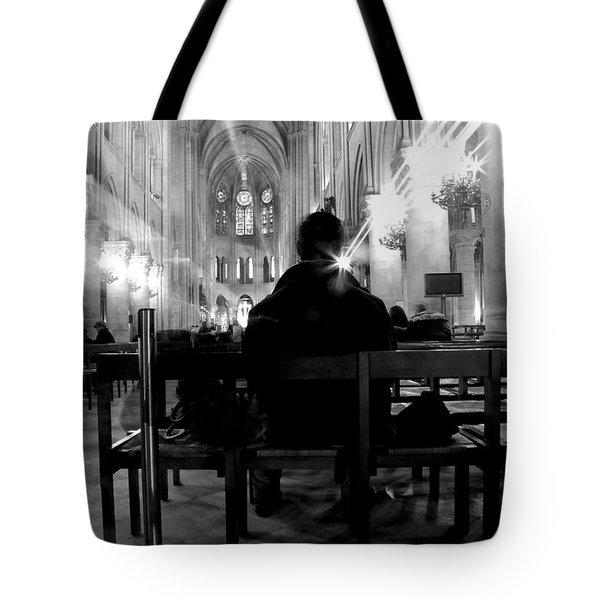 Tote Bag featuring the photograph Notre-dame Paris by Danica Radman