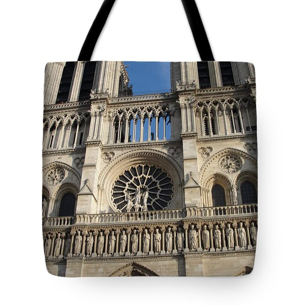 Tote Bag featuring the photograph Notre Dame by Tiffany Erdman