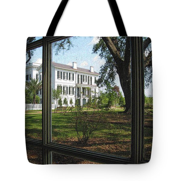 Nottoway Through The Window Tote Bag