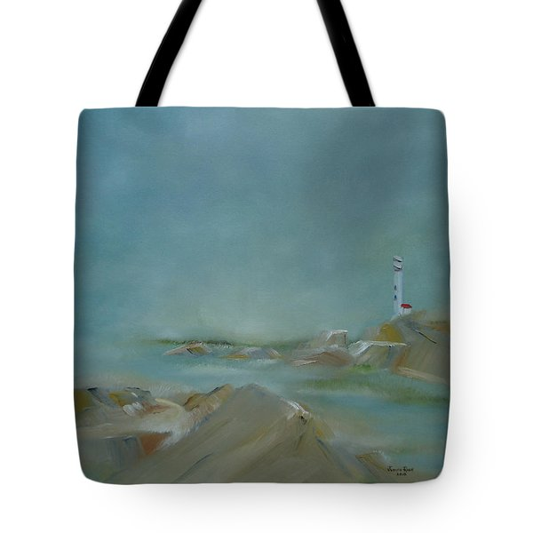Nova Scotia Fog Tote Bag