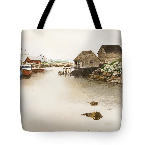 Nova Scotia Tote Bag by Monte Toon